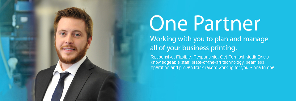 One Partner. Working with you to plan and manage all of your business printing.